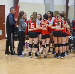 eclipse volleyball club rules - team 15-1  huddles